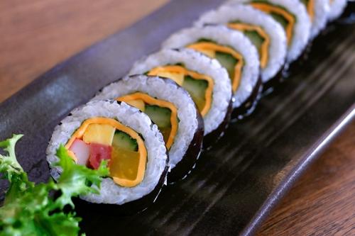 치즈김밥 (Cheesegimbap)