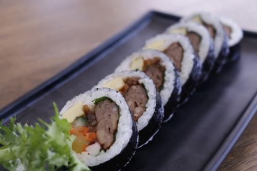 떡갈비김밥